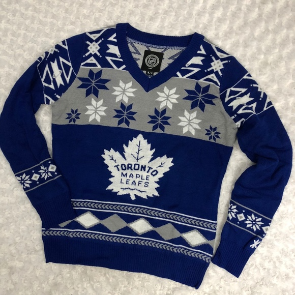 check out cbc0d 2b640 Toronto Maple Leafs NHL Sweater